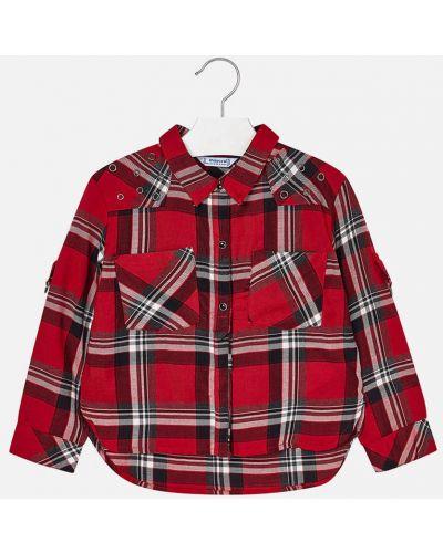 Блуза длинная с манжетами Mayoral