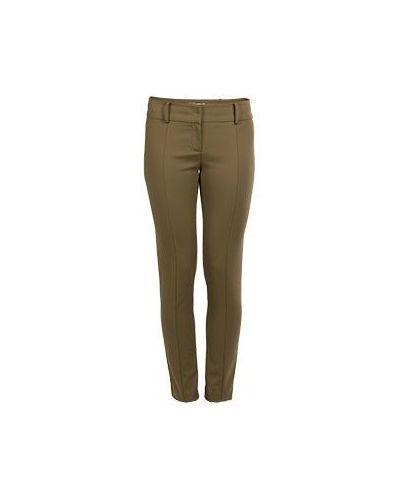 Зеленые зауженные брюки Patrizia Pepe