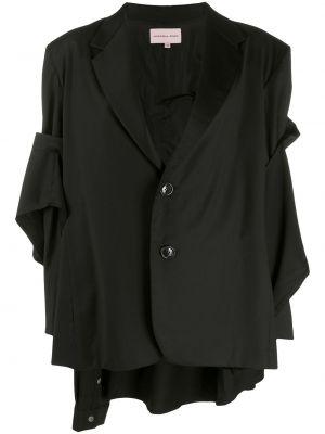 Шерстяная рубашка - черная Natasha Zinko
