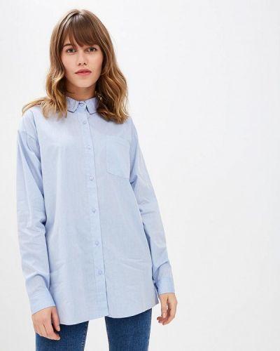Голубая рубашка с длинным рукавом Ichi
