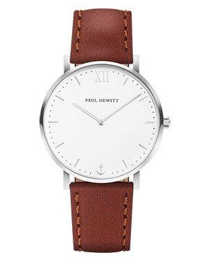 Часы на кожаном ремешке кварцевые Paul Hewitt