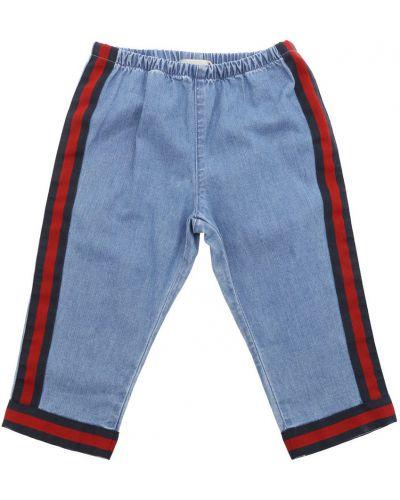 Niebieskie jeansy Gucci