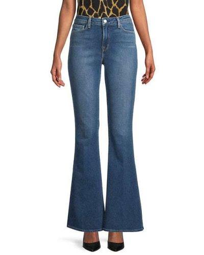 Расклешенные синие джинсы с карманами L'agence