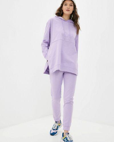 Костюмный фиолетовый спортивный костюм Moki