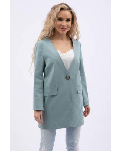 Деловой пиджак мятный Wisell