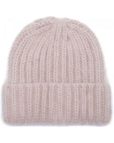 Трикотажная шапка - розовая Carlo Visintini