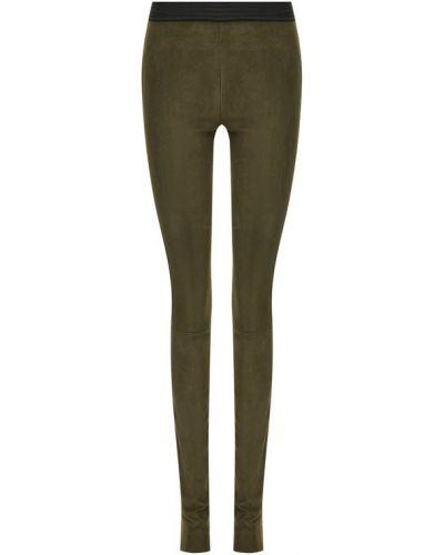 Классические брюки на резинке зауженные Drome