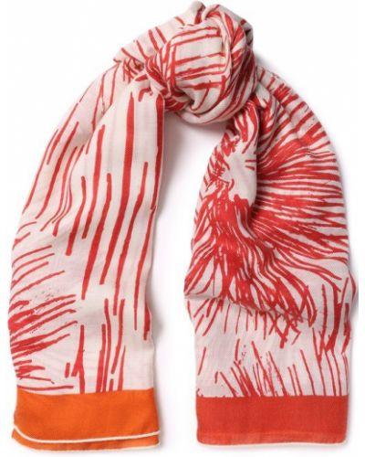 Красный шарф узкий Loro Piana