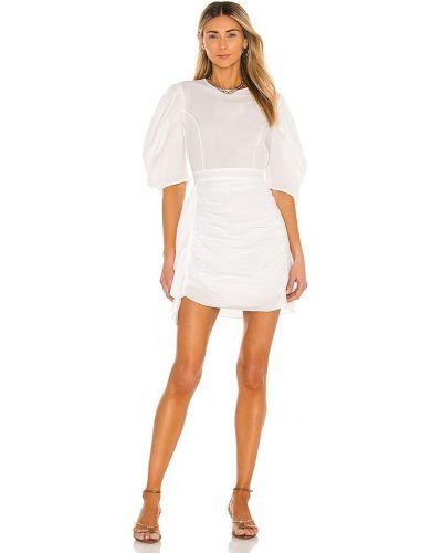 Biała sukienka bawełniana Rhode