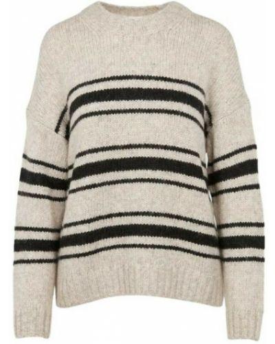Beżowy sweter Ba&sh