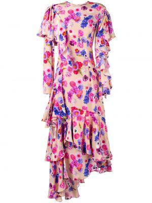 Шелковое платье - розовое Natasha Zinko