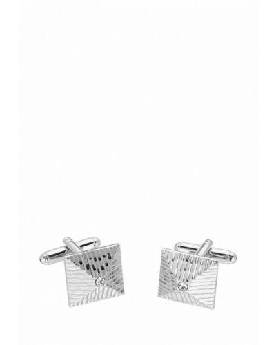 Запонки из серебра серебряного цвета Ir.lush