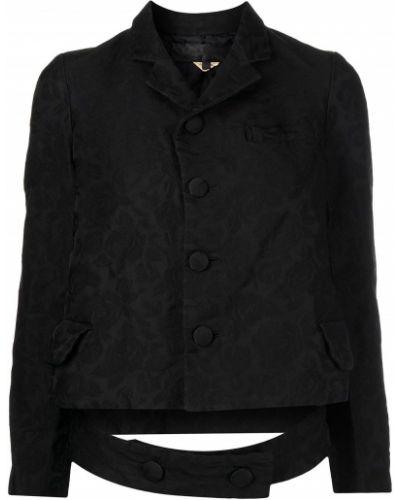 Пиджак длинный - черный Comme Des Garçons Comme Des Garçons