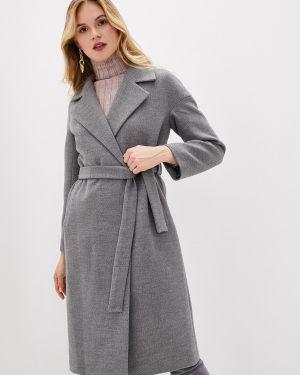 Пальто демисезонное серое Giulia Rosetti