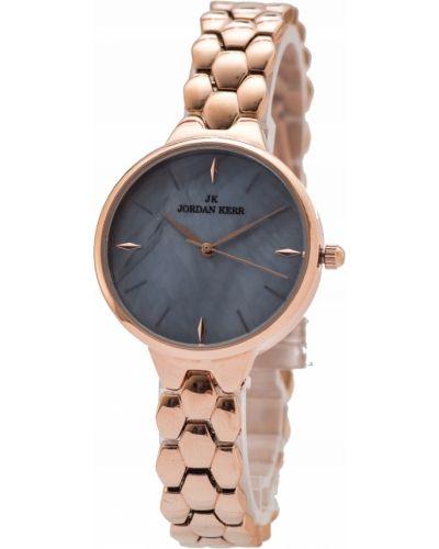 Różowy zegarek elegancki Jordan Kerr