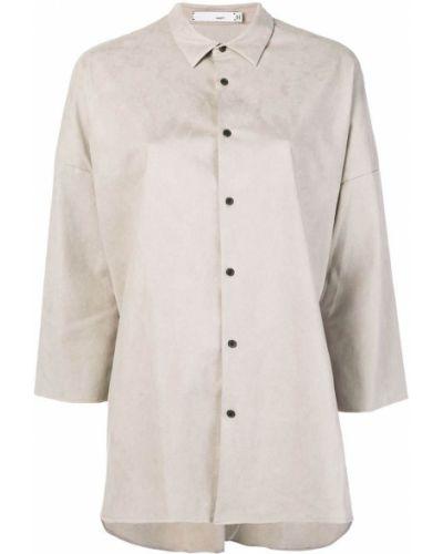 Классическая прямая классическая рубашка с воротником Knott