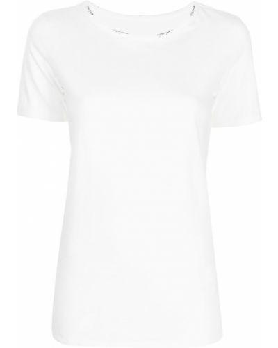 Biała t-shirt bawełniana Yohji Yamamoto