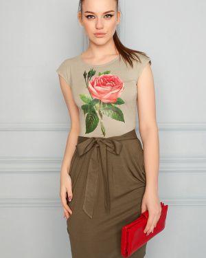 Летнее платье облегающее платье-сарафан Eliseeva Olesya