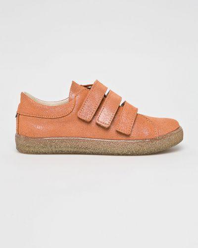 Кроссовки кожаные коричневый Mrugała