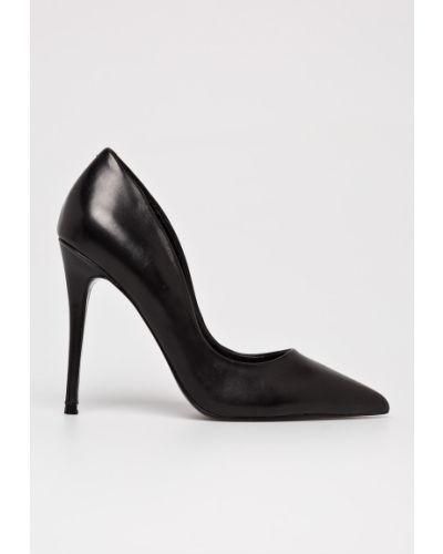 Кожаные туфли на каблуке на шпильке Steve Madden