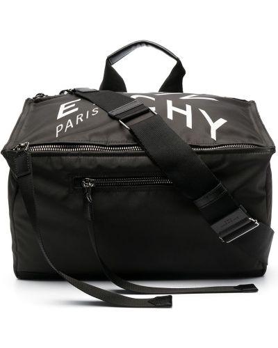 Czarny z paskiem torba kosmetyczna Givenchy