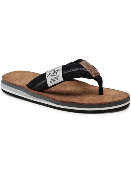 Czarne sandały na lato S.oliver