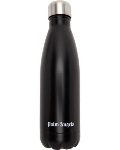 Черная термальная вода металлическая Palm Angels