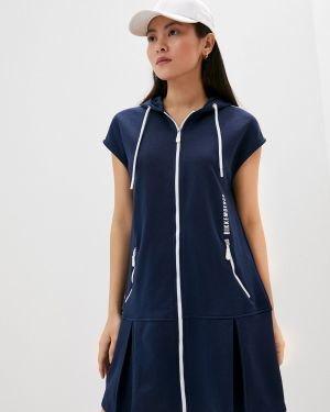 Платье - синее Bikkembergs