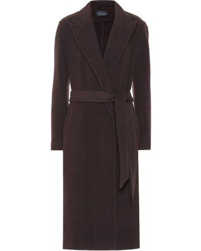 Шерстяное пальто с поясом Polo Ralph Lauren