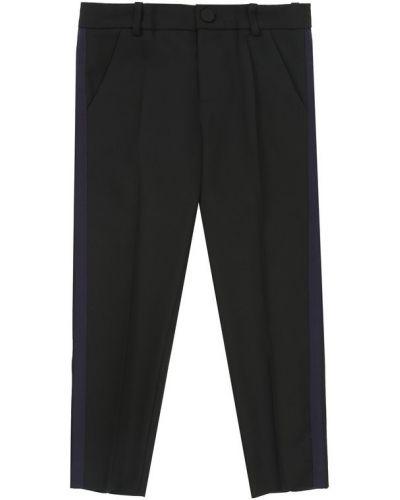 Классические брюки с лампасами со стрелками Gucci