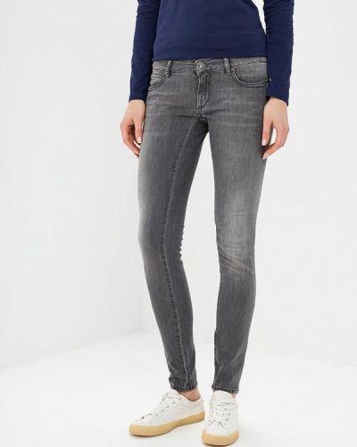 Серые джинсы-скинни Rifle