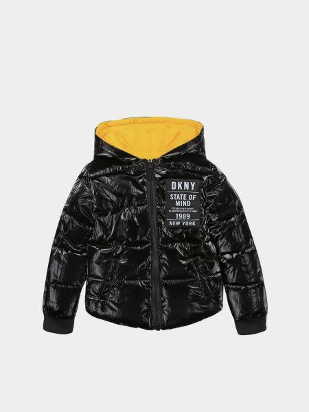 Желтая зимняя куртка Dkny