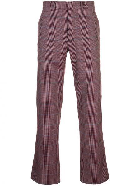 Różowe spodnie z paskiem Rochambeau