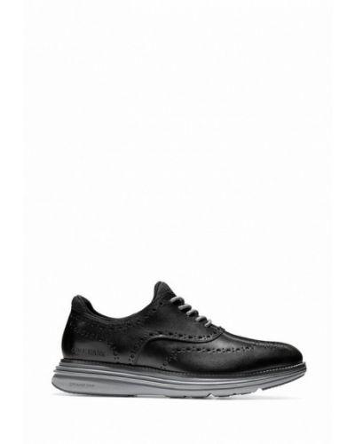 Кожаные ботинки - черные Cole Haan