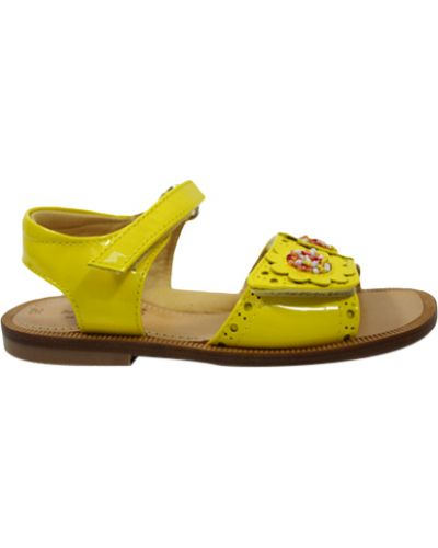 Босоножки желтый Zecchino D'oro