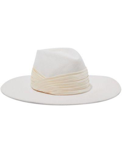 Фетровые шляпа - бежевые Eugenia Kim