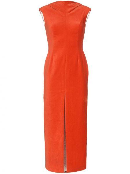 Платье миди с вырезом Situationist