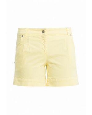 Повседневные желтые шорты Tricot Chic