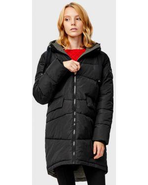 Пальто с капюшоном на молнии с нашивками Ostin
