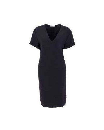 Черное платье для офиса Costume National