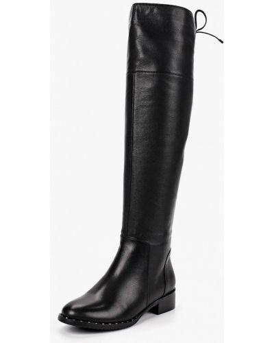 Ботфорты на каблуке кожаные Marie Collet