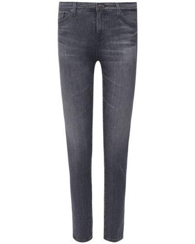 Хлопковые серые джинсы Ag