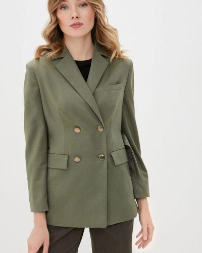 Зеленый пиджак Anna Verdi
