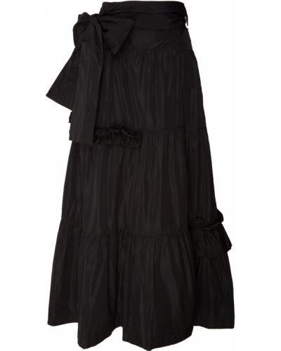 Черная юбка из вискозы P.a.r.o.s.h.
