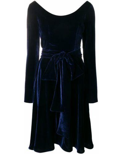 Приталенное расклешенное платье Rhea Costa