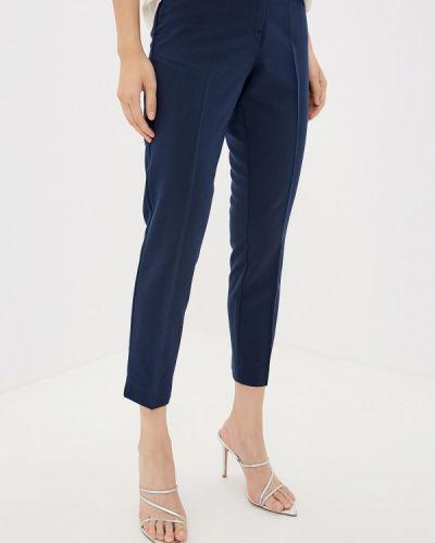 Классические брюки весенний синие Iwie