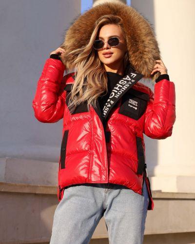 Куртка с карманами - красная Visdeer