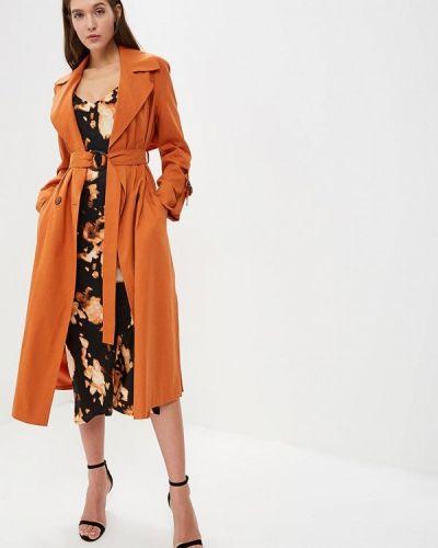 Оранжевый плащ весенний Topshop