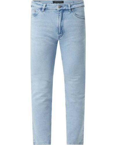 Niebieskie jeansy bawełniane Drykorn