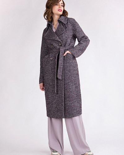 Шерстяное пальто - серое Electrastyle